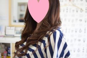 奈良県奈良市|美容室youの編込みエクステ、エクステンション
